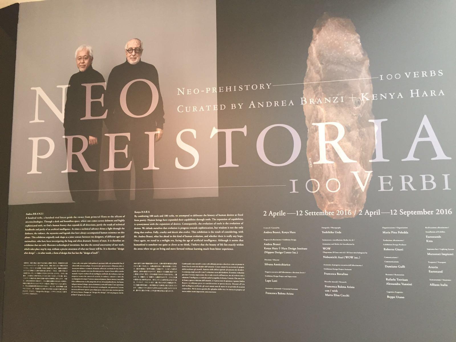 Neo Preistoria - 100 verbi